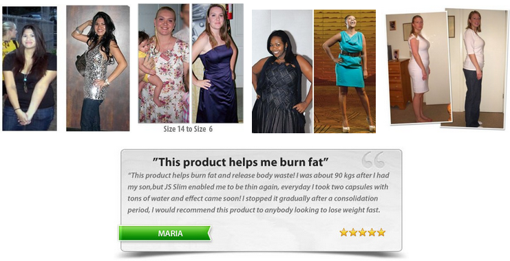 JS Slim Capsules - Burn Fat Faster And Easier - South Africa
